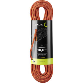Edelrid Tower Lite Rope 10,0mm x 40m red night